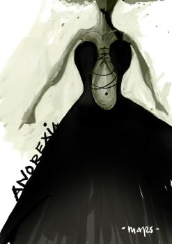 anorexia bride by phantoscope