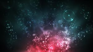 Bubbly Abstract Wallpaper by whozZy94