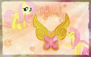 Fluttershy Element Background by Angelicsweetheart