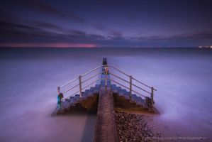Misty Stairs by Photographystev