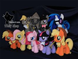 The Group! ponys by Vegeto-UchihaPortgas