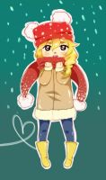 Charlotte is cold... by Rach-art