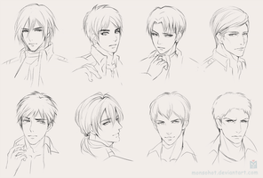 SnK Sketch by Monsohot