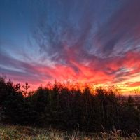 Fire in the sky by CharmingPhotography