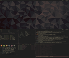 [arch] [bspwm] Desktop Feb 2015 by transienceband