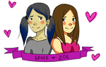 Degrassi- Grace And Zoe by christineFTW