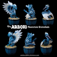 The Arbori : Moonstone Bromeliads by emilySculpts