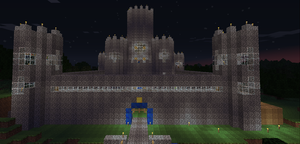 minecraft: castle 2 by cynderplayer