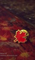 The maple leaf by LoneFury
