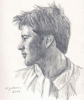 Sheppard profile sketch by crysothemis