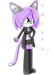 Aksana the cat by Annithecat