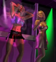 Amber at the club - Pg. 3 by sexycurvybabe