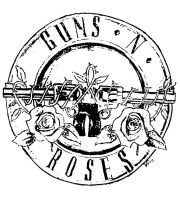 Guns N' Roses logo :: INKSTAMP EDIT by VRocketQueen