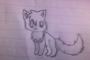 Whitepaw (Whitefox)  Doodle by Raintailkat