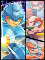 Megaman Tribute - Preview by Pertheseus