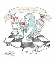 ON JOUE AU COUTEAU by madeleineironique
