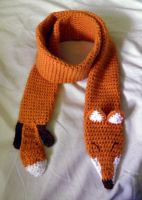 Fox Scarf by theCuddlyCephalopod