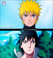 Naruto 486 'Because you're my friend' by DarkNyash
