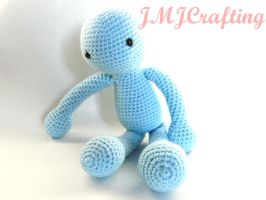 ~The Lonely Man Amigurumi Doll~ by aselga