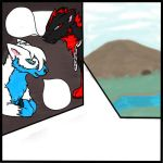 W.I.P- First comic page preview by Tailzy-Chan