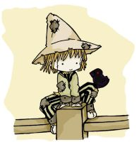Scarecrow by Galyta