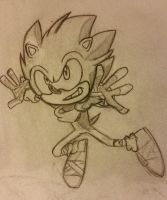 Sonic Boom Sketch by mini-man92