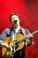 Mumford and Sons:  Marcus Mumford by basseca