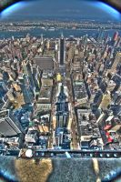 HDR View from ESB by MrBlueSky1987