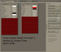 My Funky Stripes Shader by ibr-remote