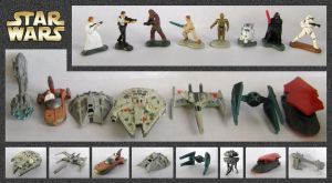Star Wars - Miniatures by mikedaws