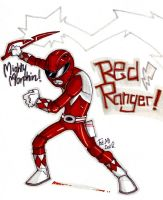 Red Ranger by Lapsus-de-Fed