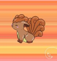 Vulpix by Espeon2Glaceon