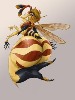 Squishably Unsquishable Wasp by SpiralingStaircase