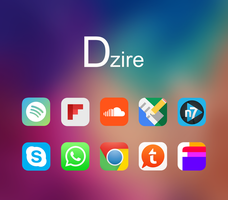 Dzire Icon Pack for Android App Drawers by al33m