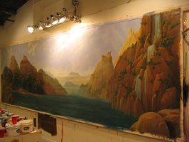 Mural for New York House, by tong66