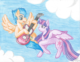 Let My Music Help You Fly, My Princess by ManicKatie2