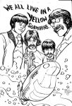 Beatles Yellow Submarine commission by Dogsupreme