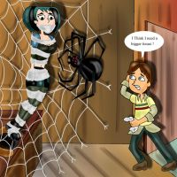 Cody vs. the Spider by napoleonxvi