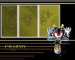 Charmy wallapaper by Faezza