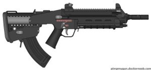 Anari Industries 'Trident' Carbine by QuarianLifeline39