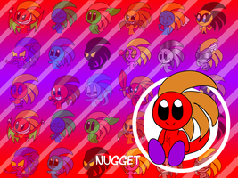 Nugget Wallpaper by SkippyWoodFood