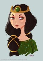 Queen Elinor - Brave by lujus