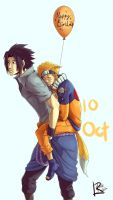 Happy Birthday Naruto by Lilak-rain