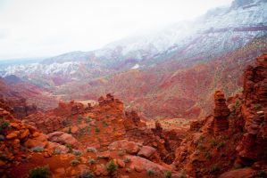 Fisher Towers VII by eurydise