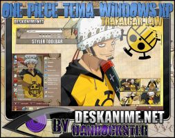 Trafalgar Law Theme Windows XP by Danrockster