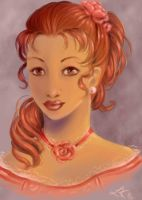 Rose portrait by Faerytale-Wings