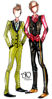 Two Suits by AlirizaDesign
