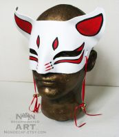 Anime Beast Mask with bells by nondecaf