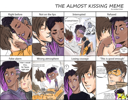 Almost Kissing Meme - Rareship Edition by Bloodfool
