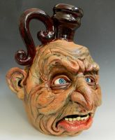 First Face Jug of 2014-Complete by thebigduluth
